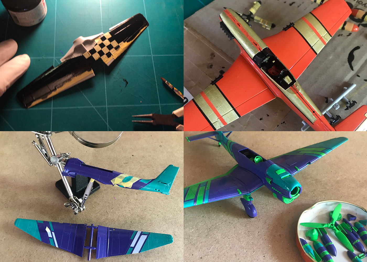 scale models,World war 2,WWII,ww2,Need For Speed,airplanes,Racing Car,Custom Paint Jobs,Mustang,stuka,Spitfire