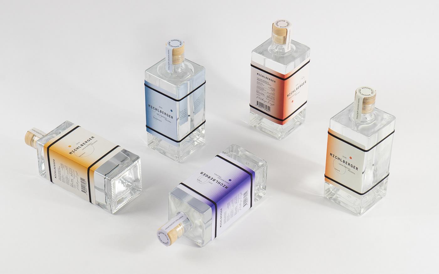 alcohol branding  graphic design  Label logo spirit type typography   visual identity