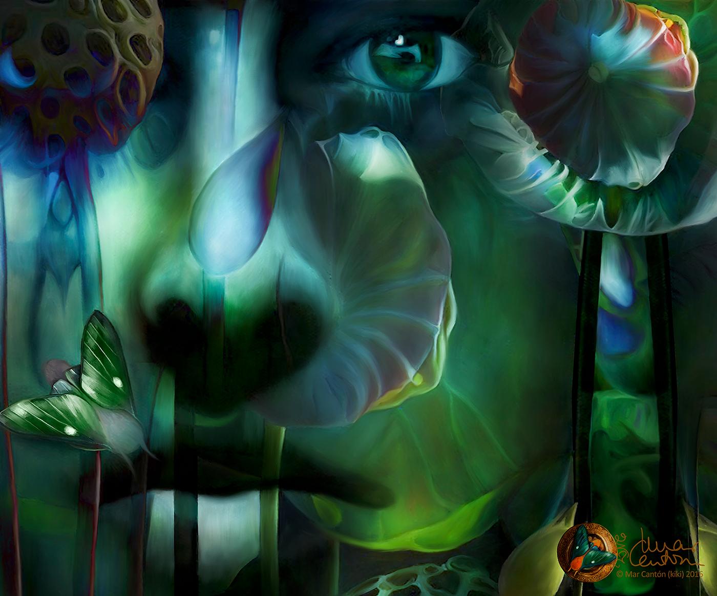 marcantón Kiki seville digital collage painting   design HR