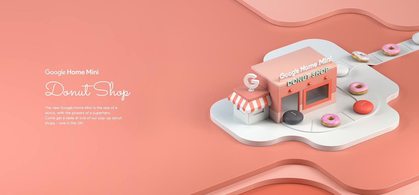 google donut shop loop