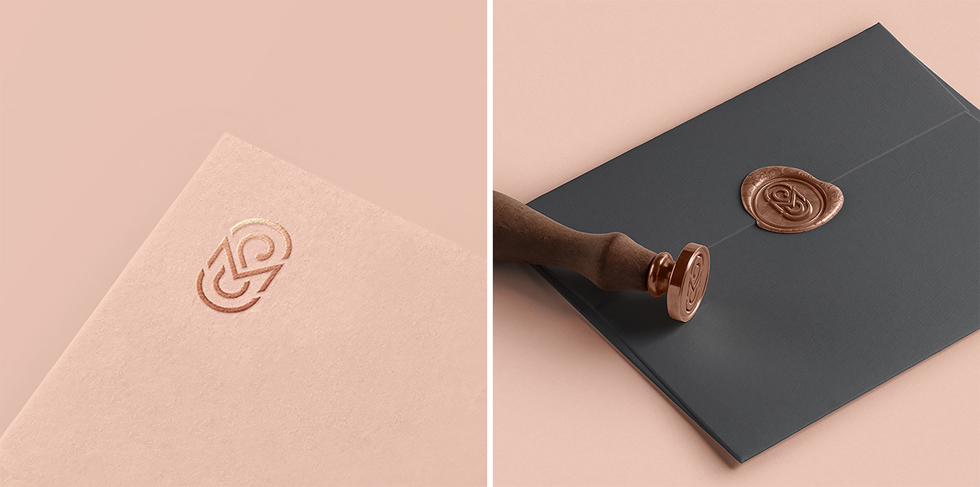 branding  Logotype identity brand design minimal graphic design  wedding Event agency