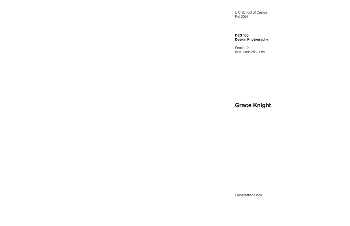 Presentation Book- Design Photography on Behance