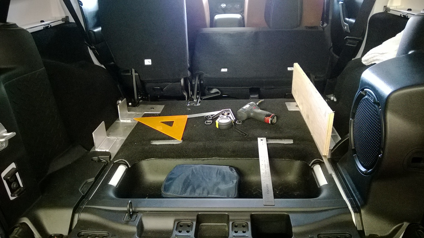 Jeep JK Unlimited Drawer Storage On Behance