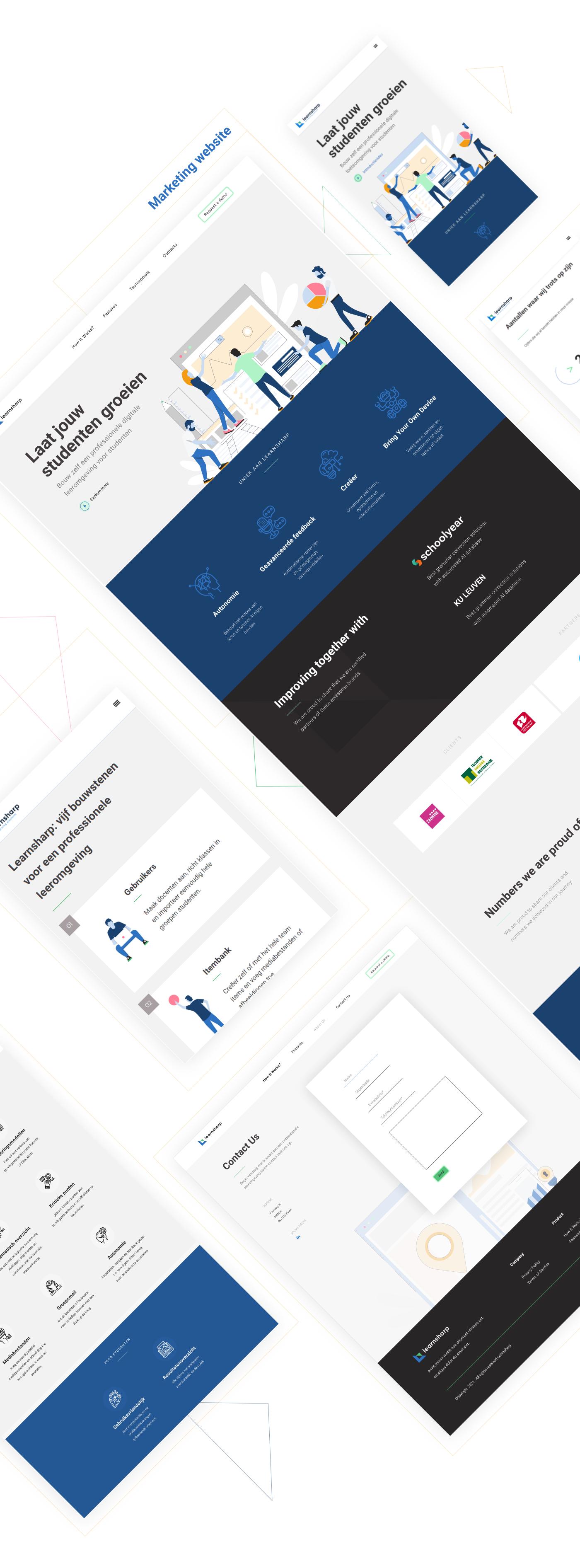 education startup Educational Product Identity System learning platform Logo Design Product Branding startup identity tech startup UX UI Webflow