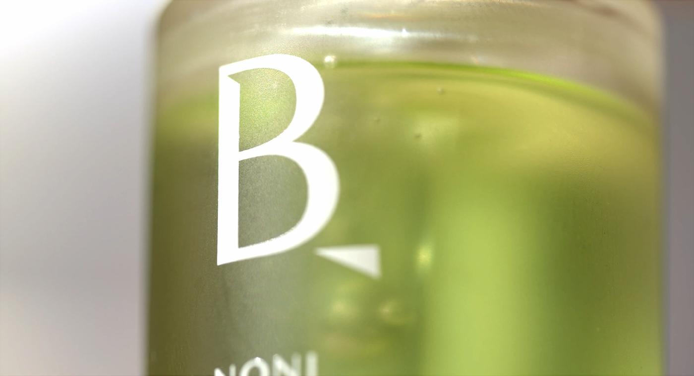 beauty BI brand branding  CI Cosmetic graphic green kbeauty package