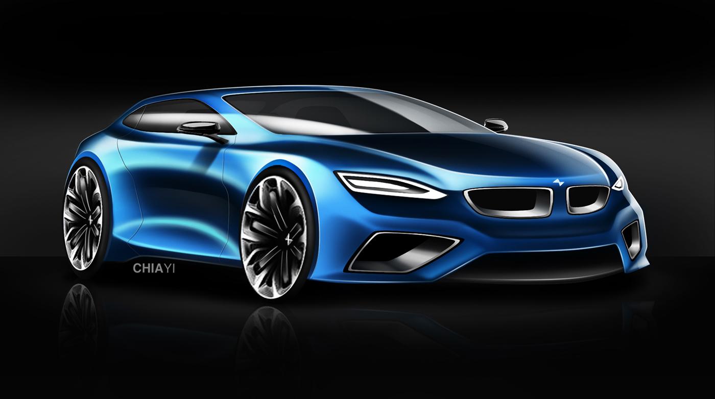 BMW Z3 M Coupe (Hatchback) Concept 2019 on Behance