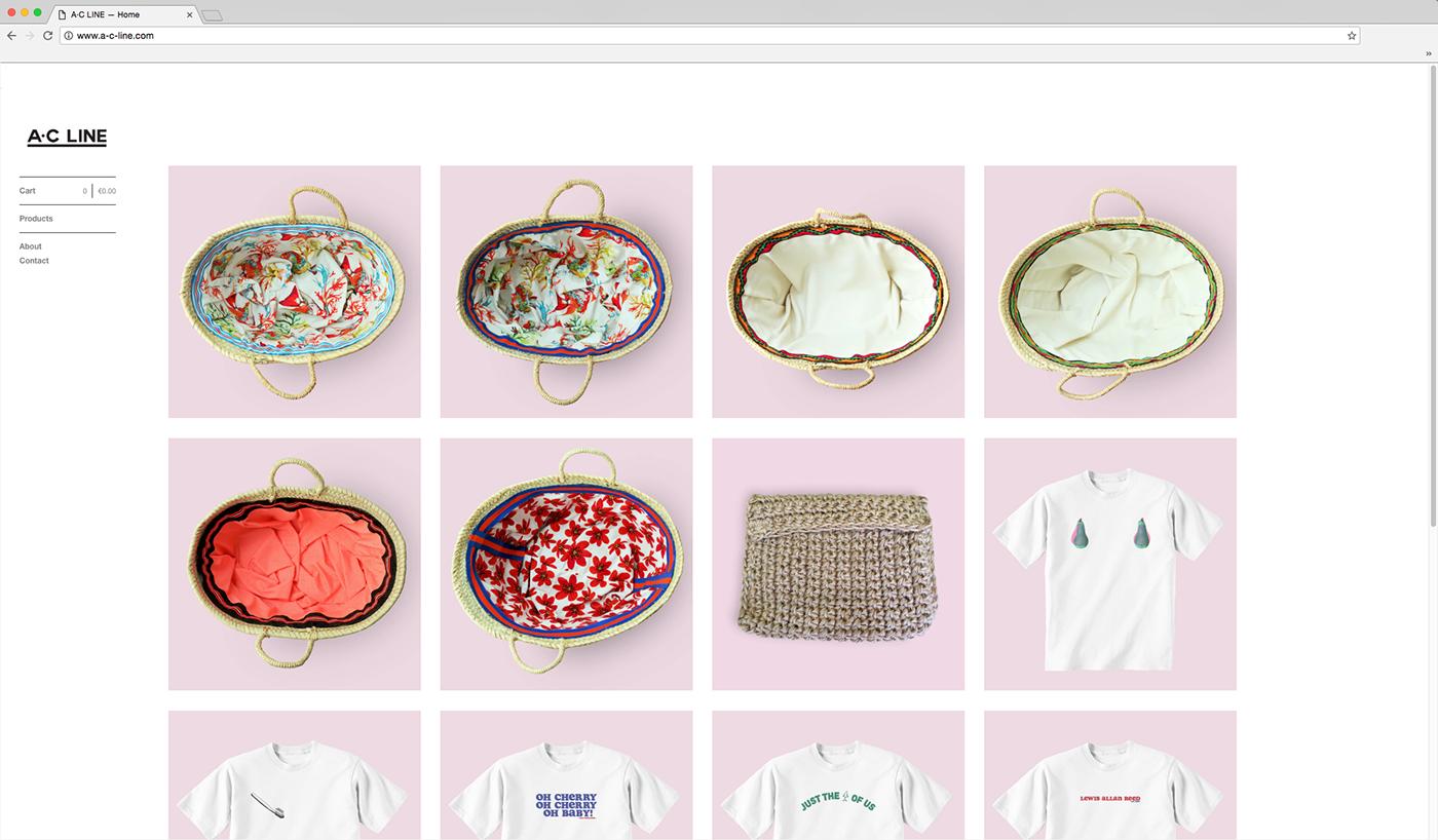 branding  brand identity graphic Fashion  shop Online shop ILLUSTRATION  t-shirt bags