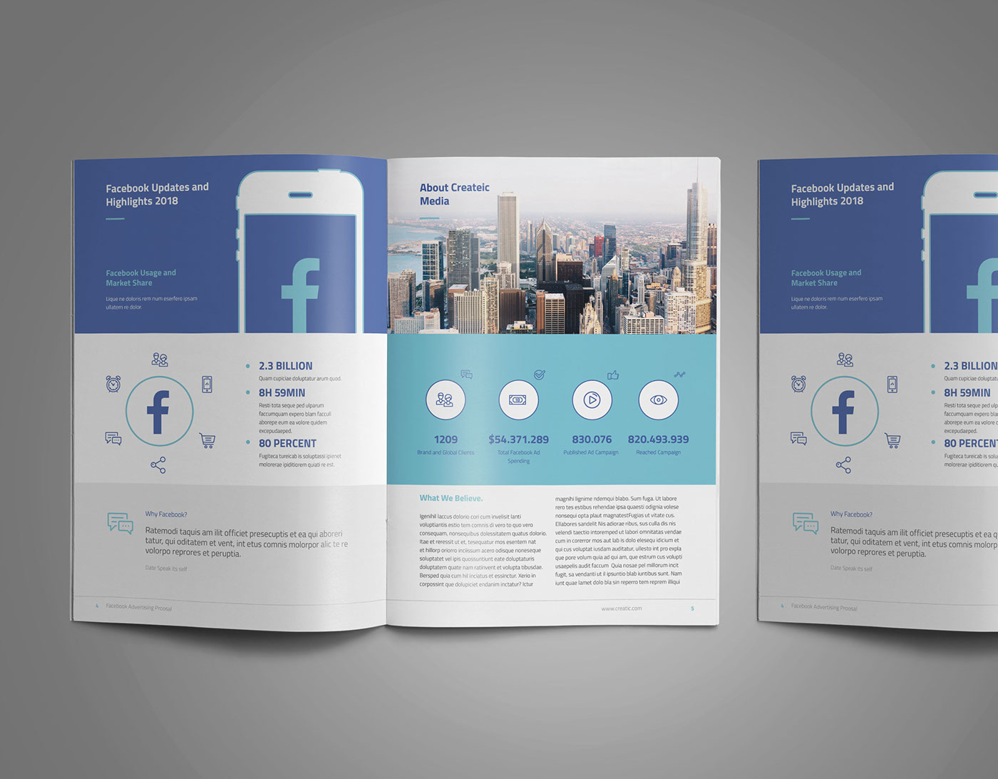 Facebook Advertising Proposal On Behance