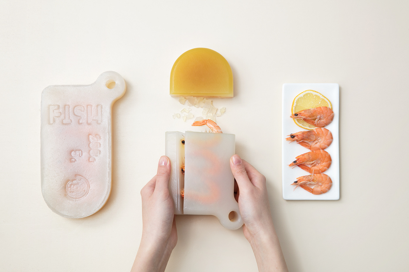 food design biodegradable Packaging futuristic Photography  animation  research 3dprinting food styling