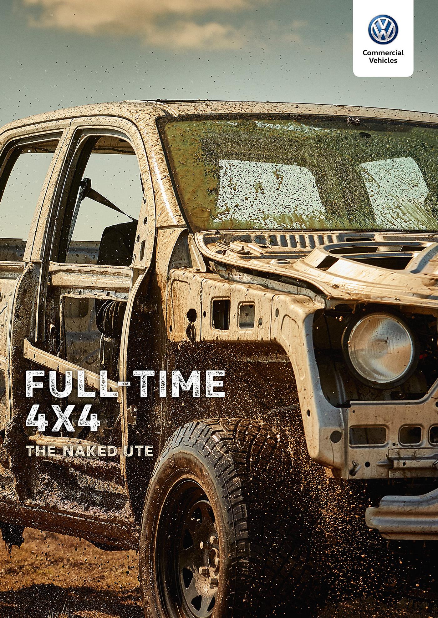 VW Amarok The Naked UTE on Behance