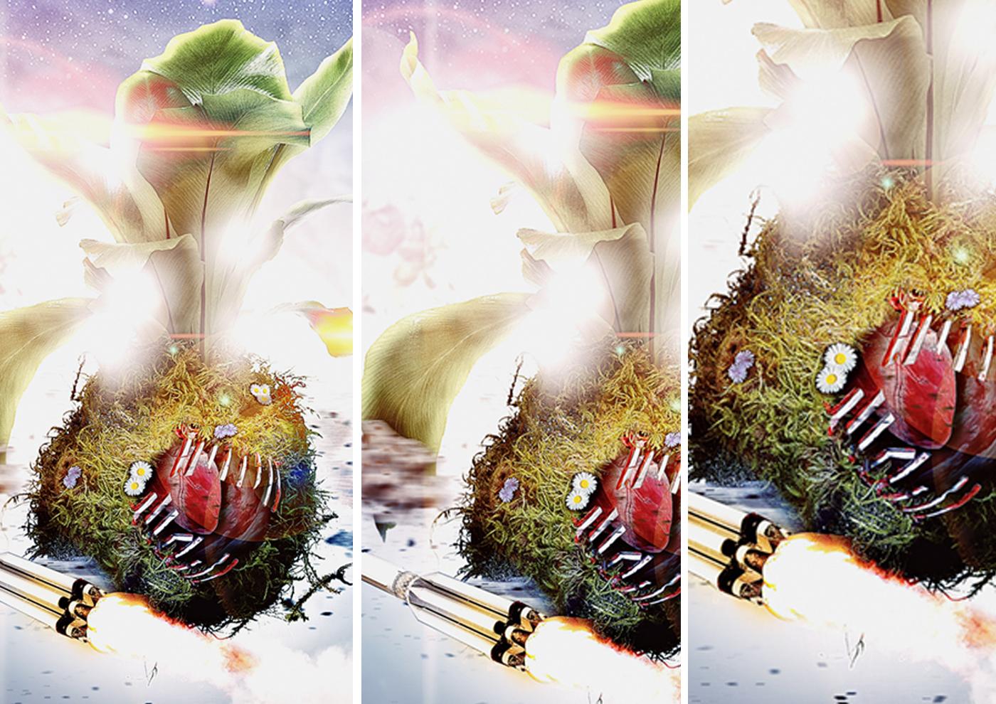 art composition photoshop