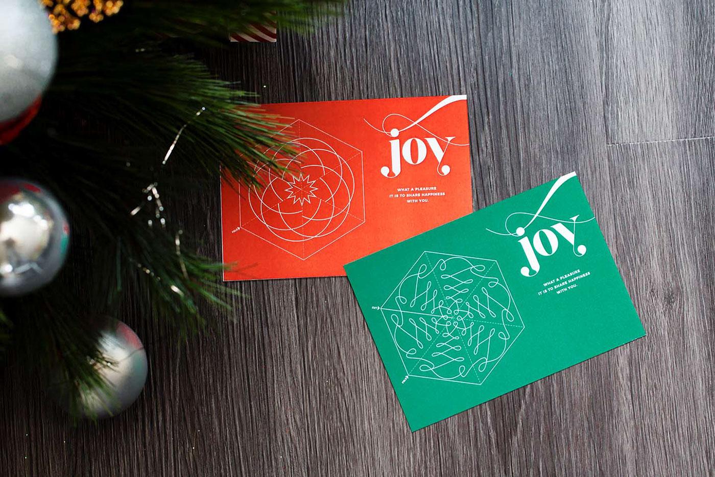 card Tree  fold Christmas Holiday nupolitan