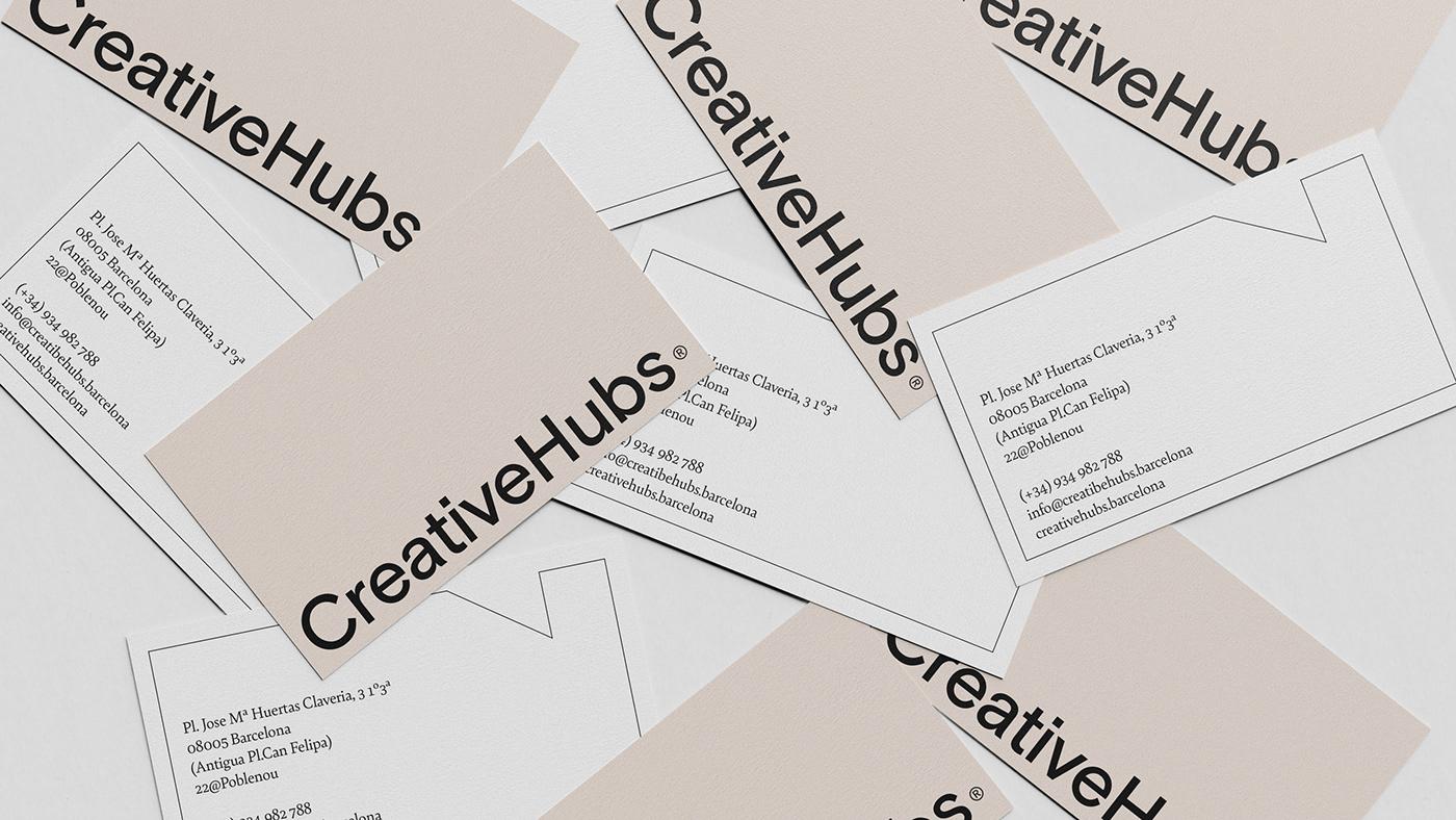 barcelona brandidentity branding  coworking Workshop