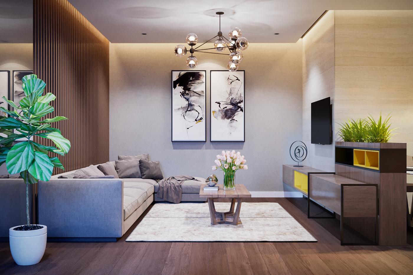 Japanese Style Apartment On Behance