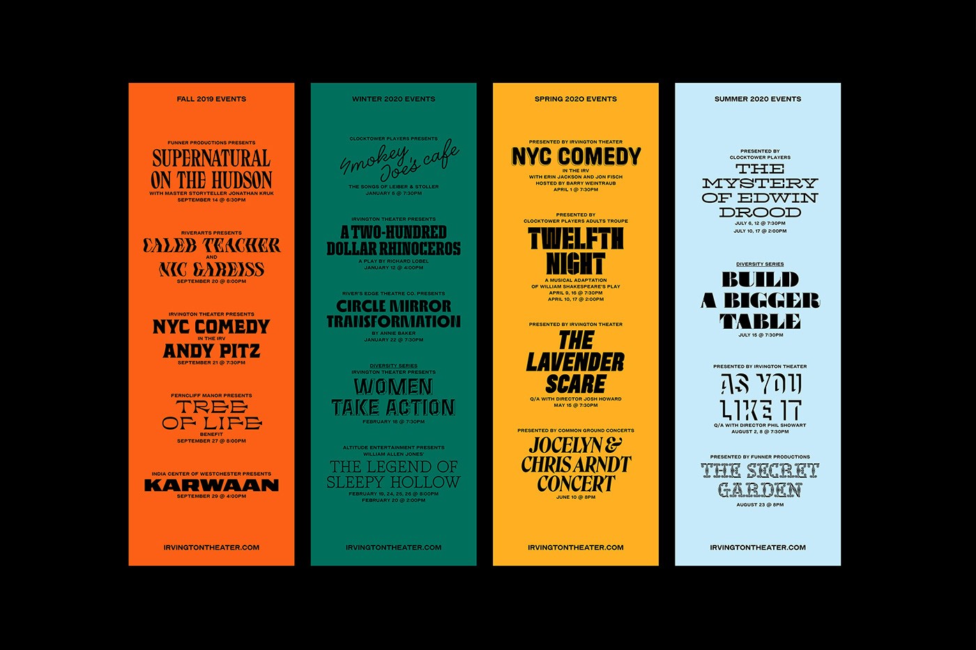 branding  cultural identity poster theater  typography