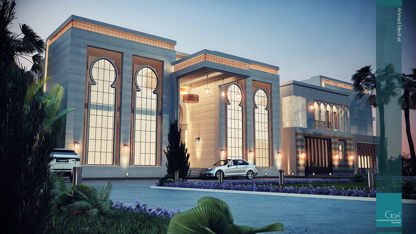 Heteen palace type a on behance for Architecture arabe
