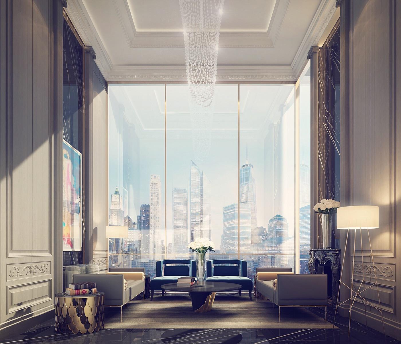 精美的34張客廳牆壁顏色欣賞