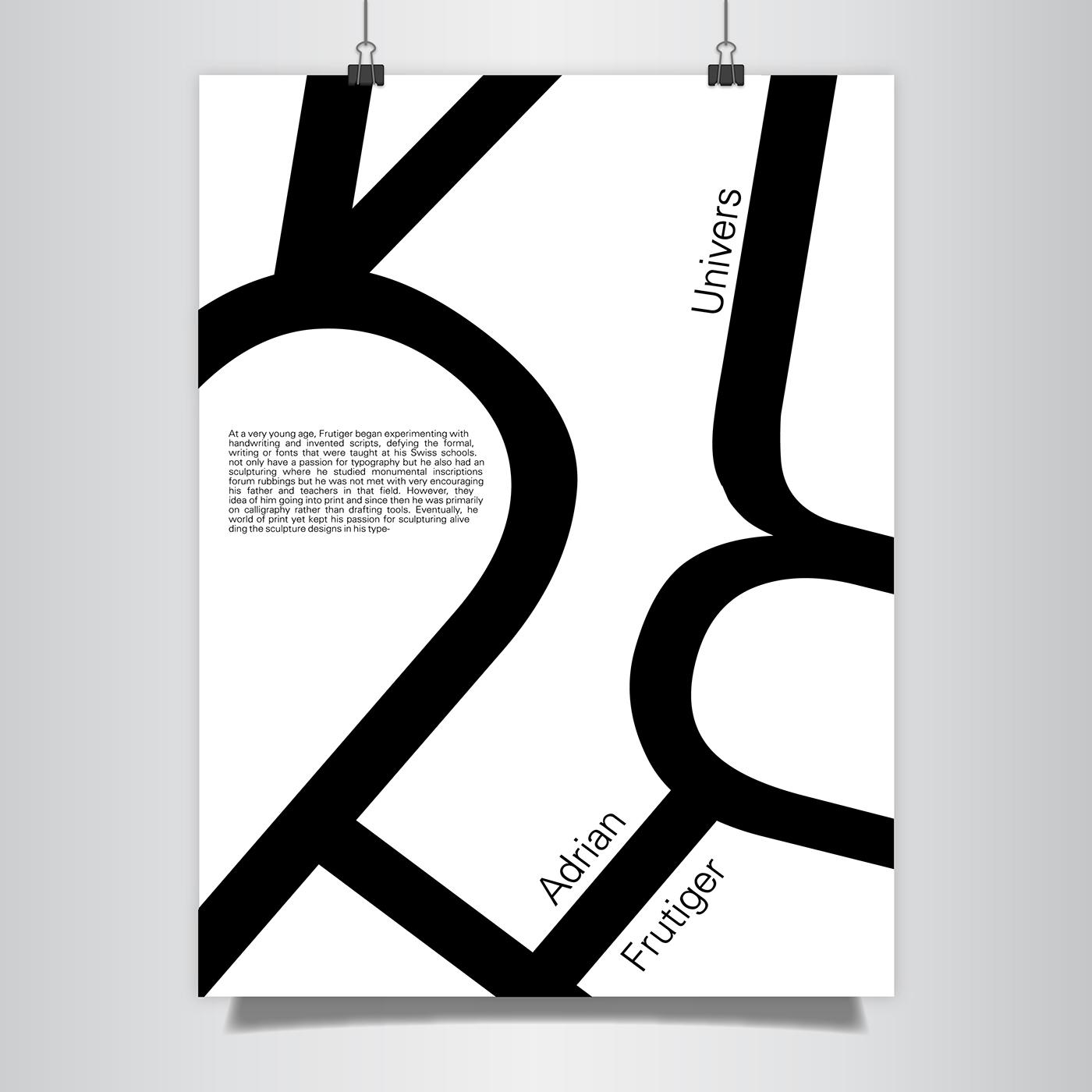 有設計感的34套海報排版欣賞