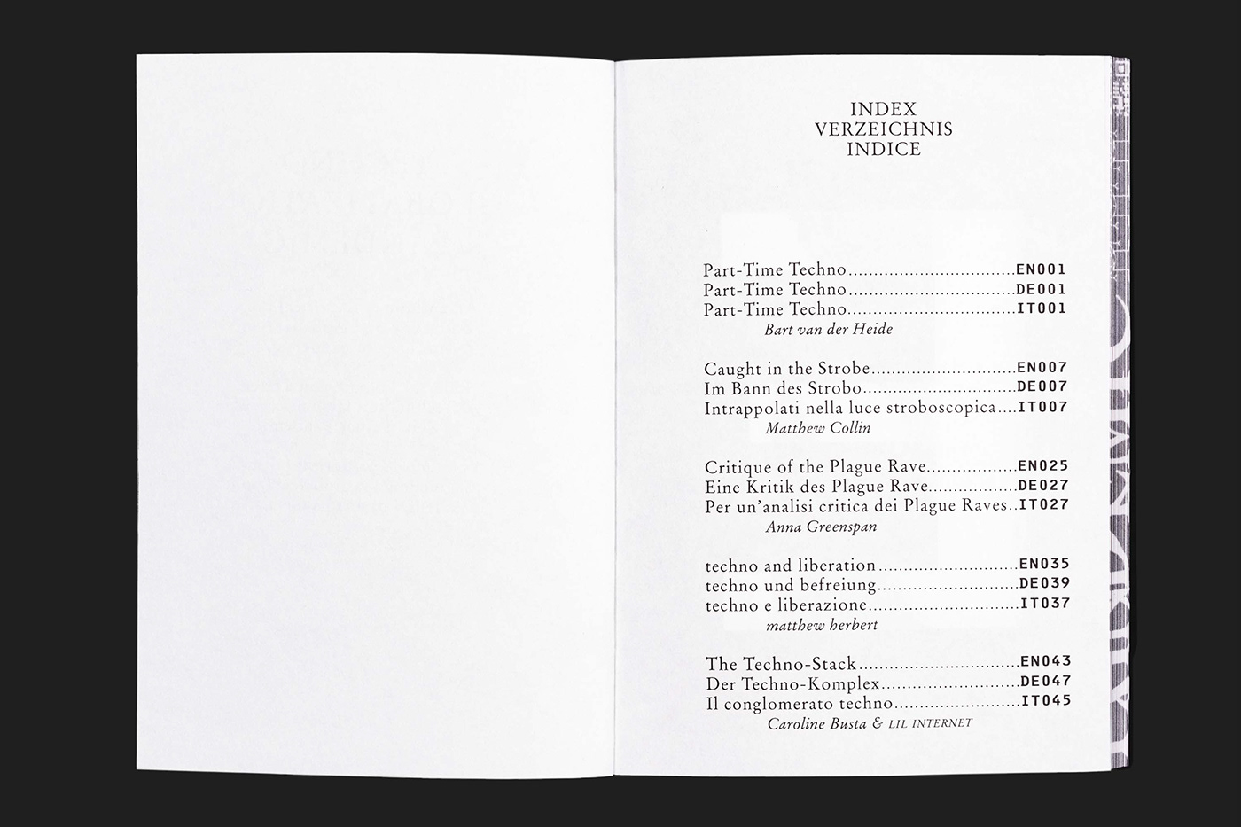 art book Catalogue editorial design  print publication techno typography