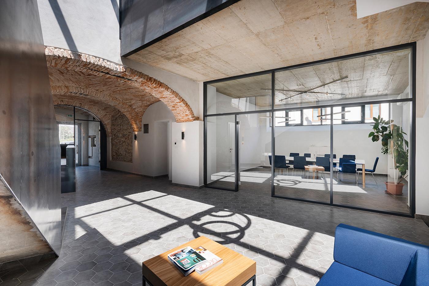 gasparbonta Office veszprém reconstruction industrial