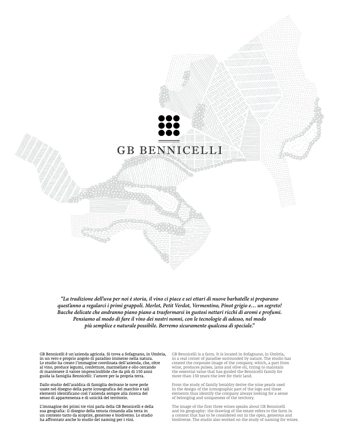 Gb Bennicelli Wine And More On Behance