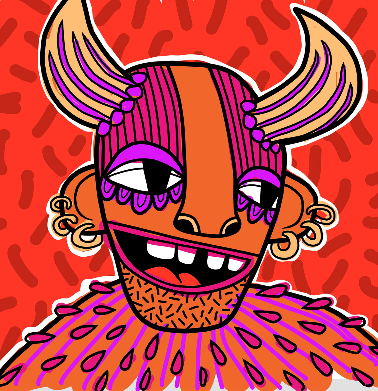 art design draw festival fresco ILLUSTRATION  pattern queer