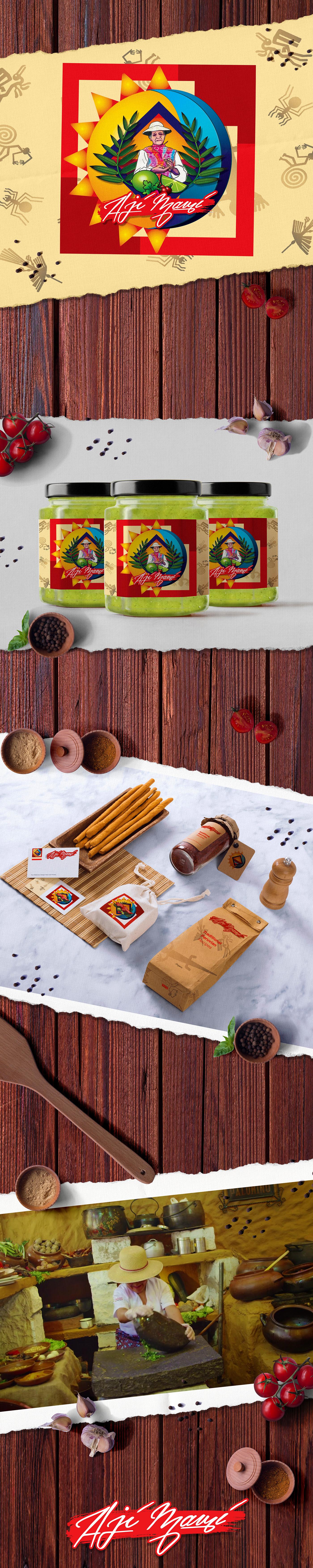 branding  hot sauce Packaging product design