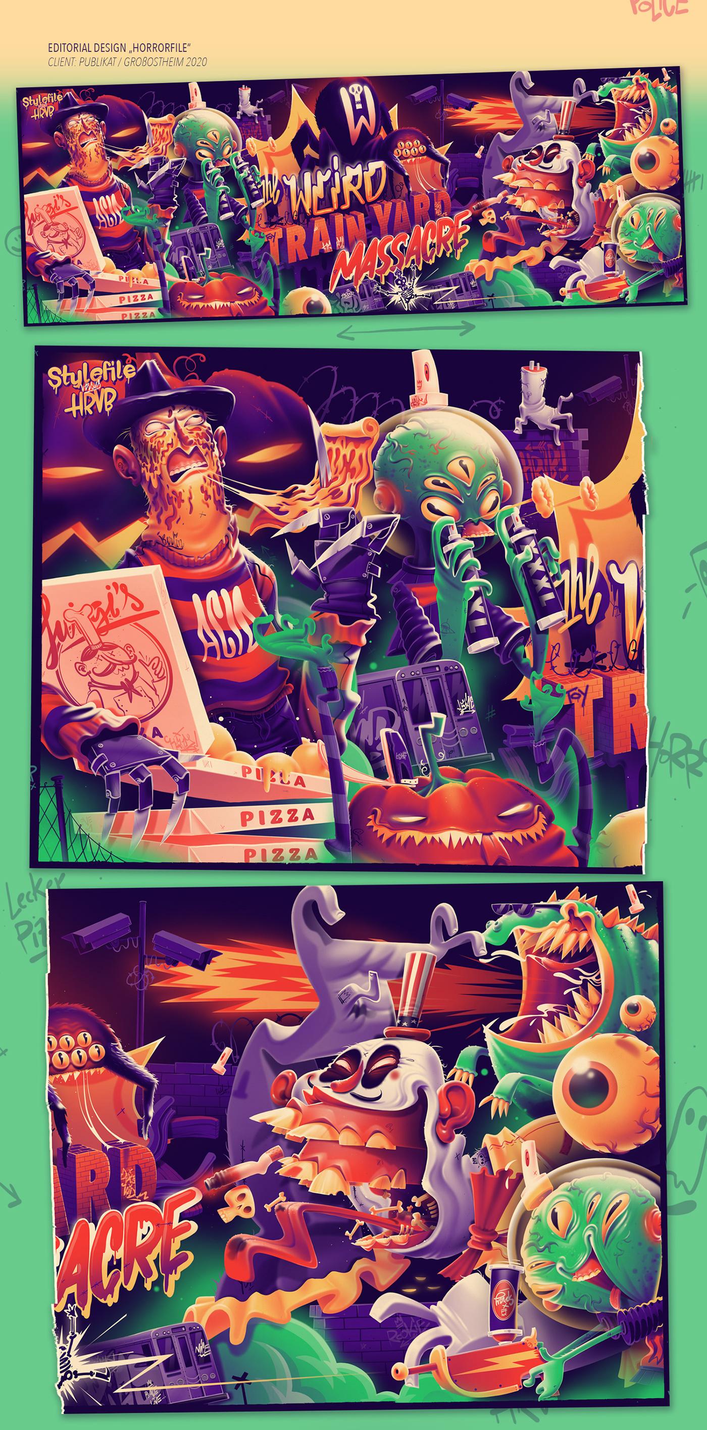 Image may contain: cartoon, poster and screenshot