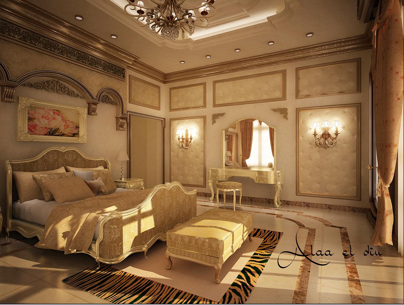 classic master bedroom  2o1o  on behance