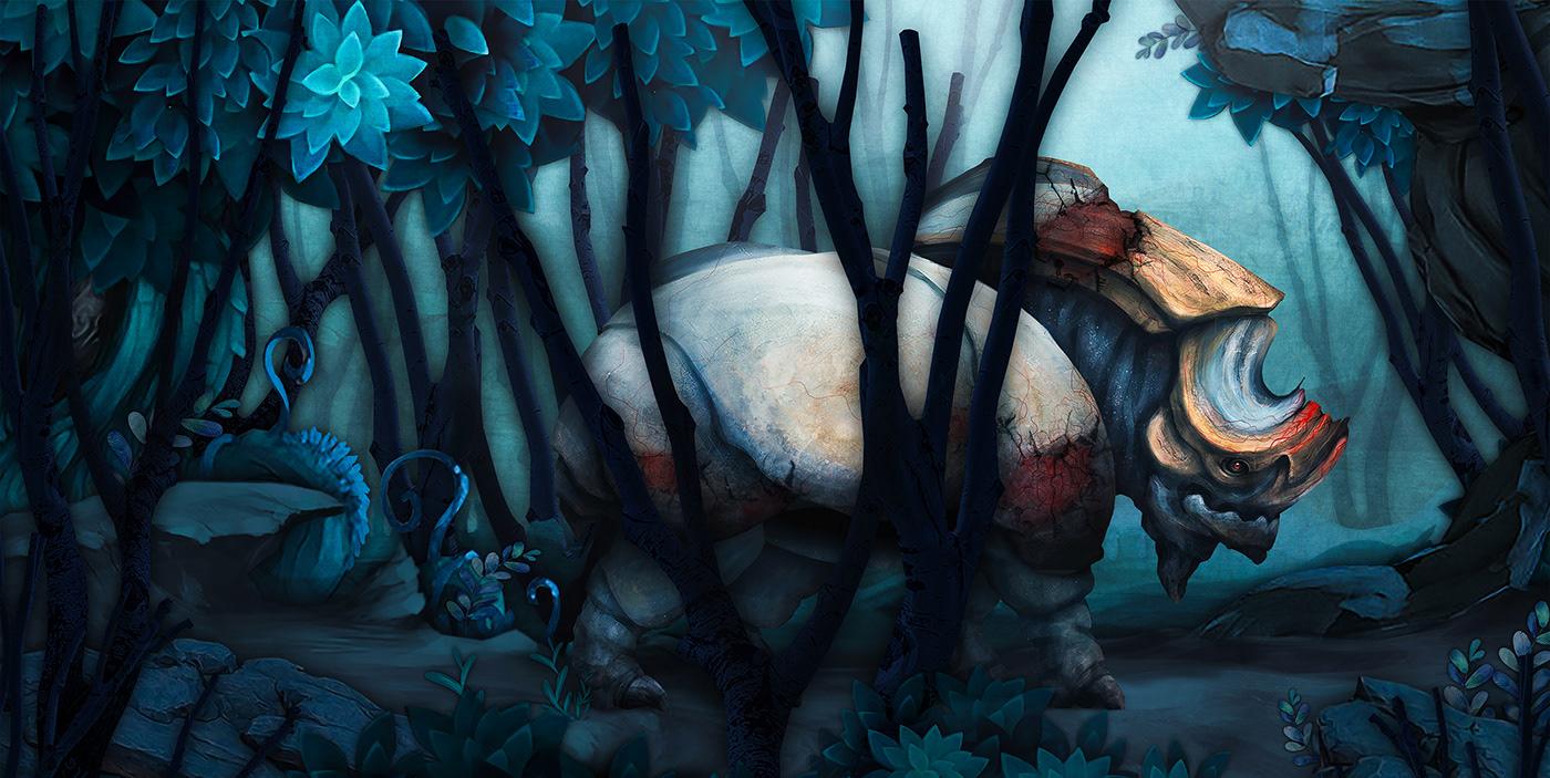 2d artist art Character Character design  concept art Digital Art  hoạt hình mầm mam viet nam