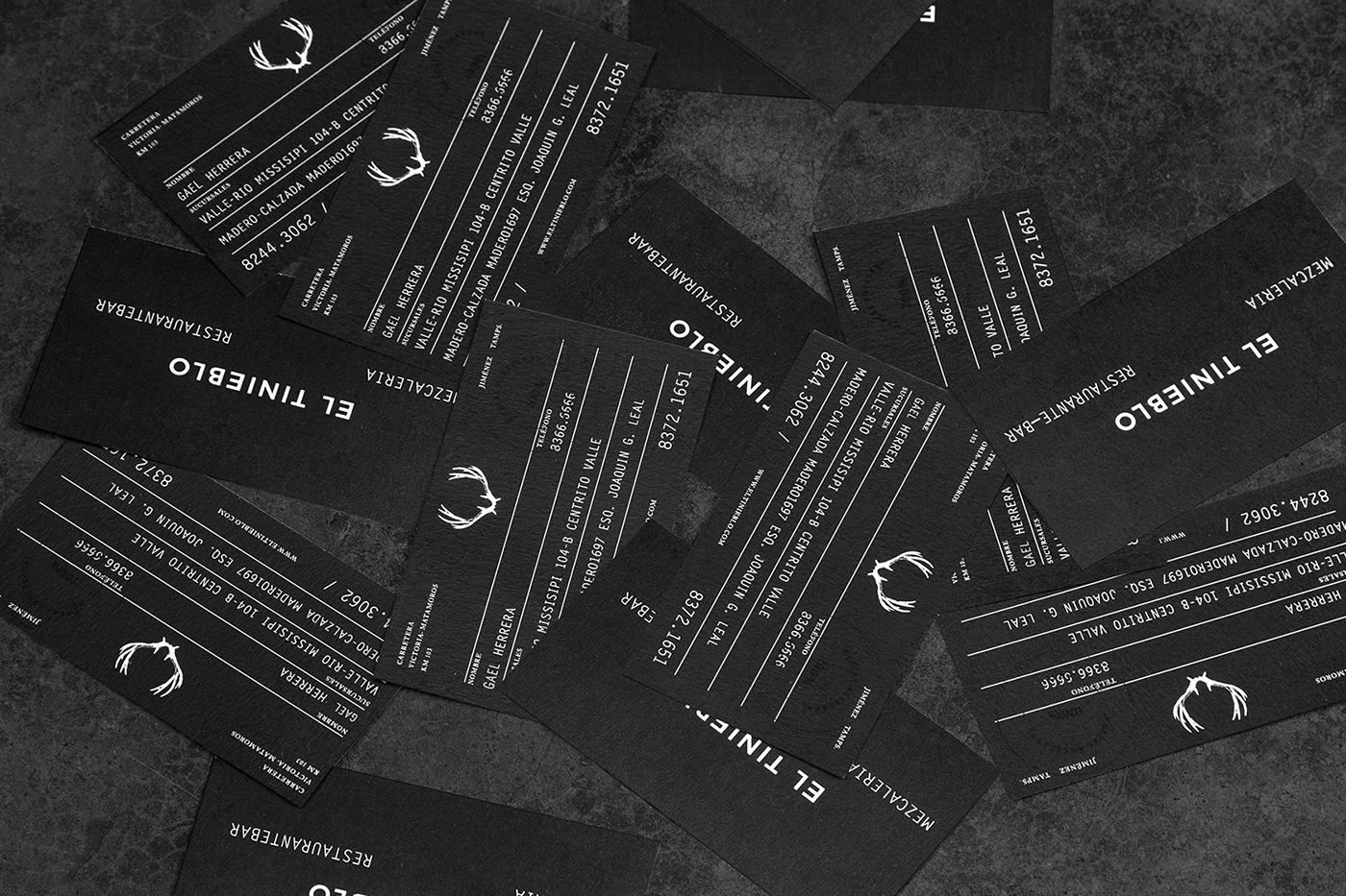 50 Business Cards Volume Two on Behance