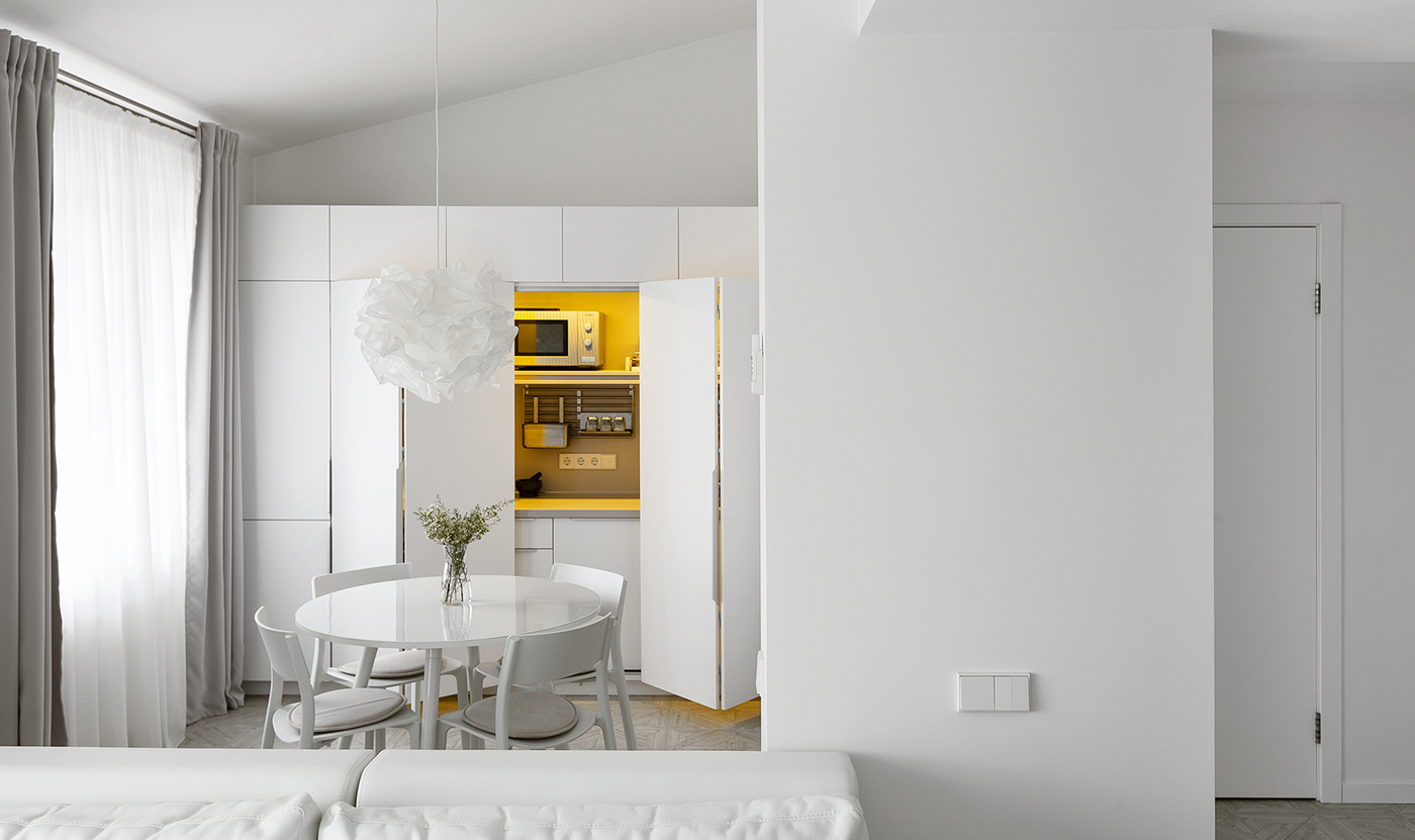 Interior design minimal small White minsk belarus Minimalism simple