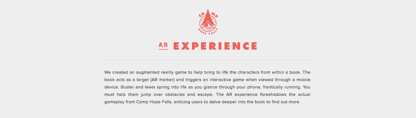 augmented reality ar games AR interactive design game design  book