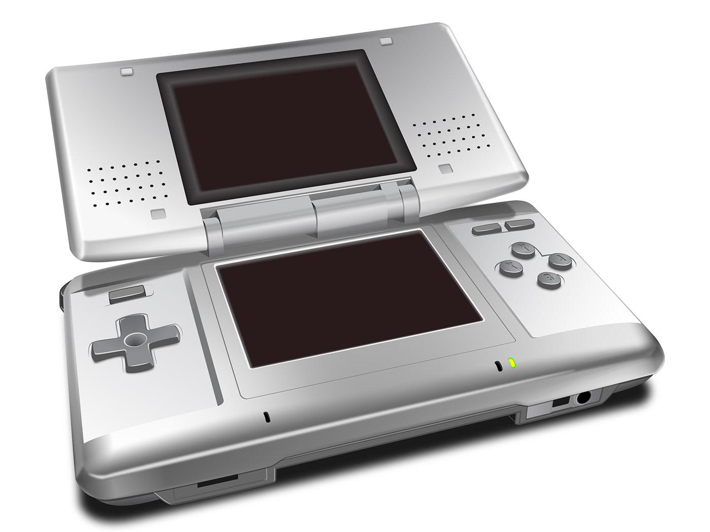 DS Nintendo rendering