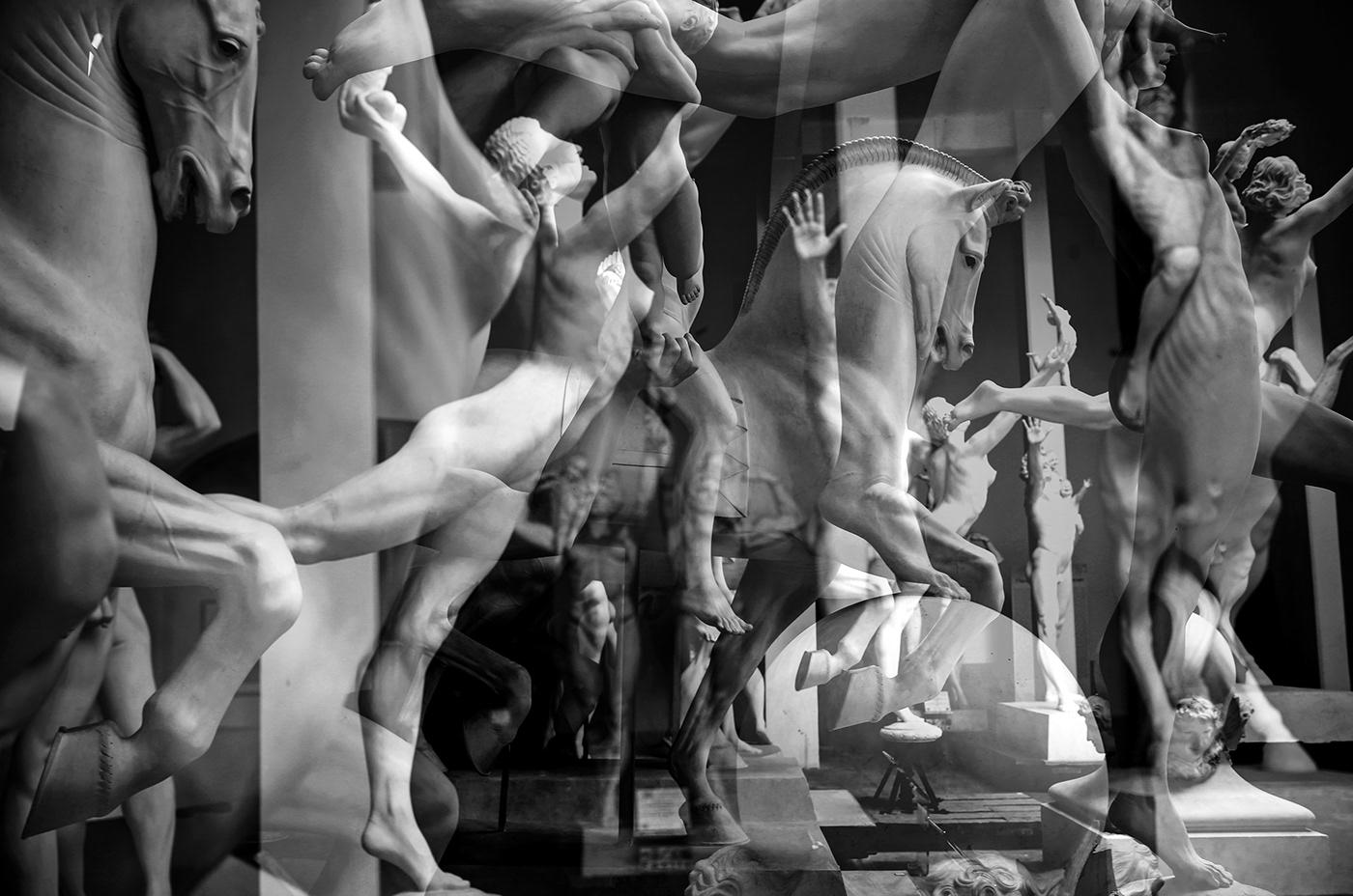 ______  Serie in Doppia esposizione realizzata presso la casa dello scultore e urbanista Hendrik Chr