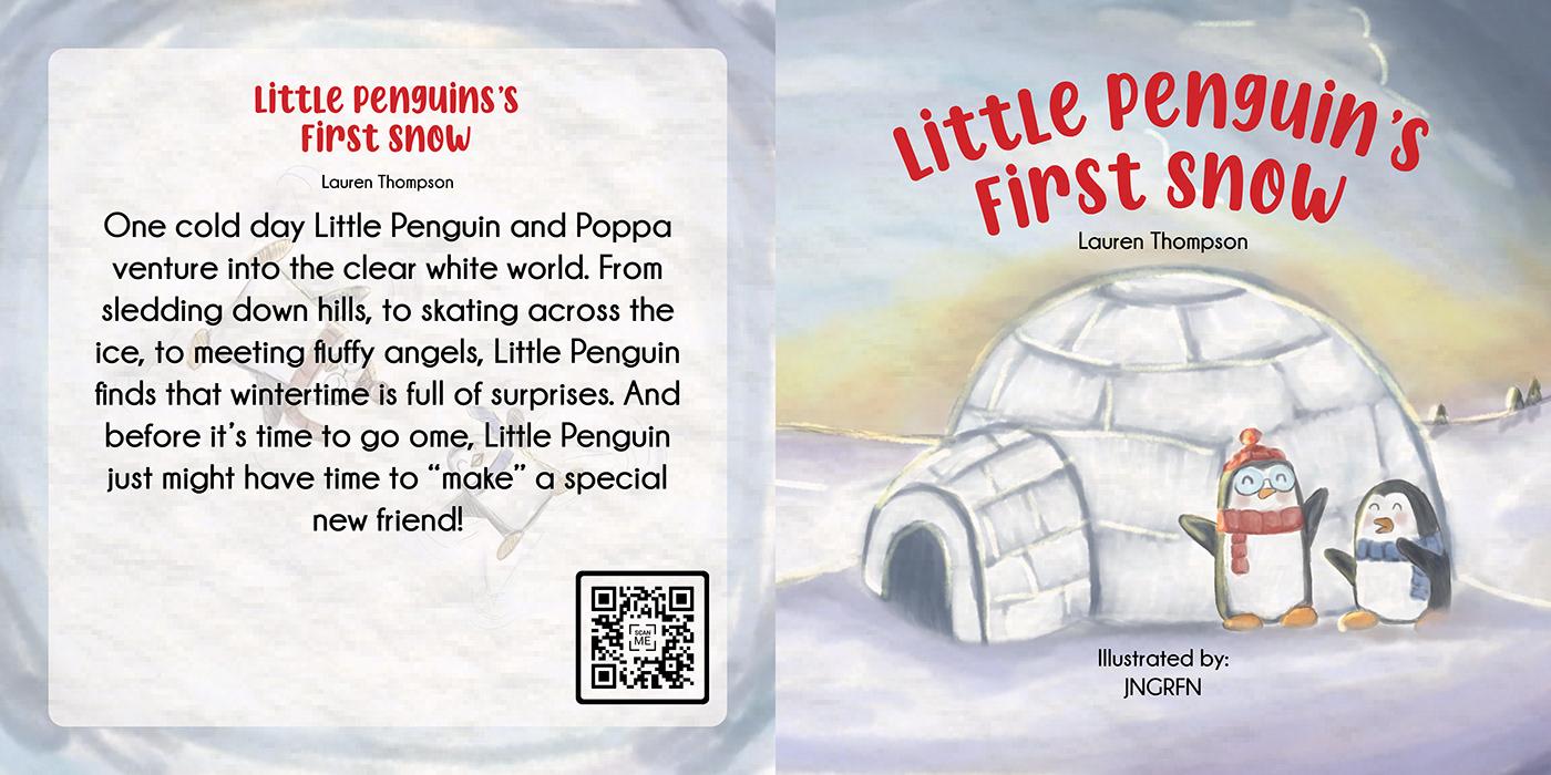 children book children's book childrens book jngrfn penguin snow