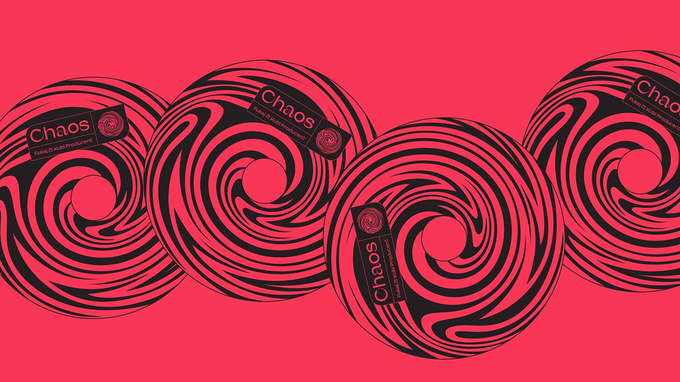 CD design chaos cover FUKAJ MACHALSKI Mateusz Machalski  music design SBM