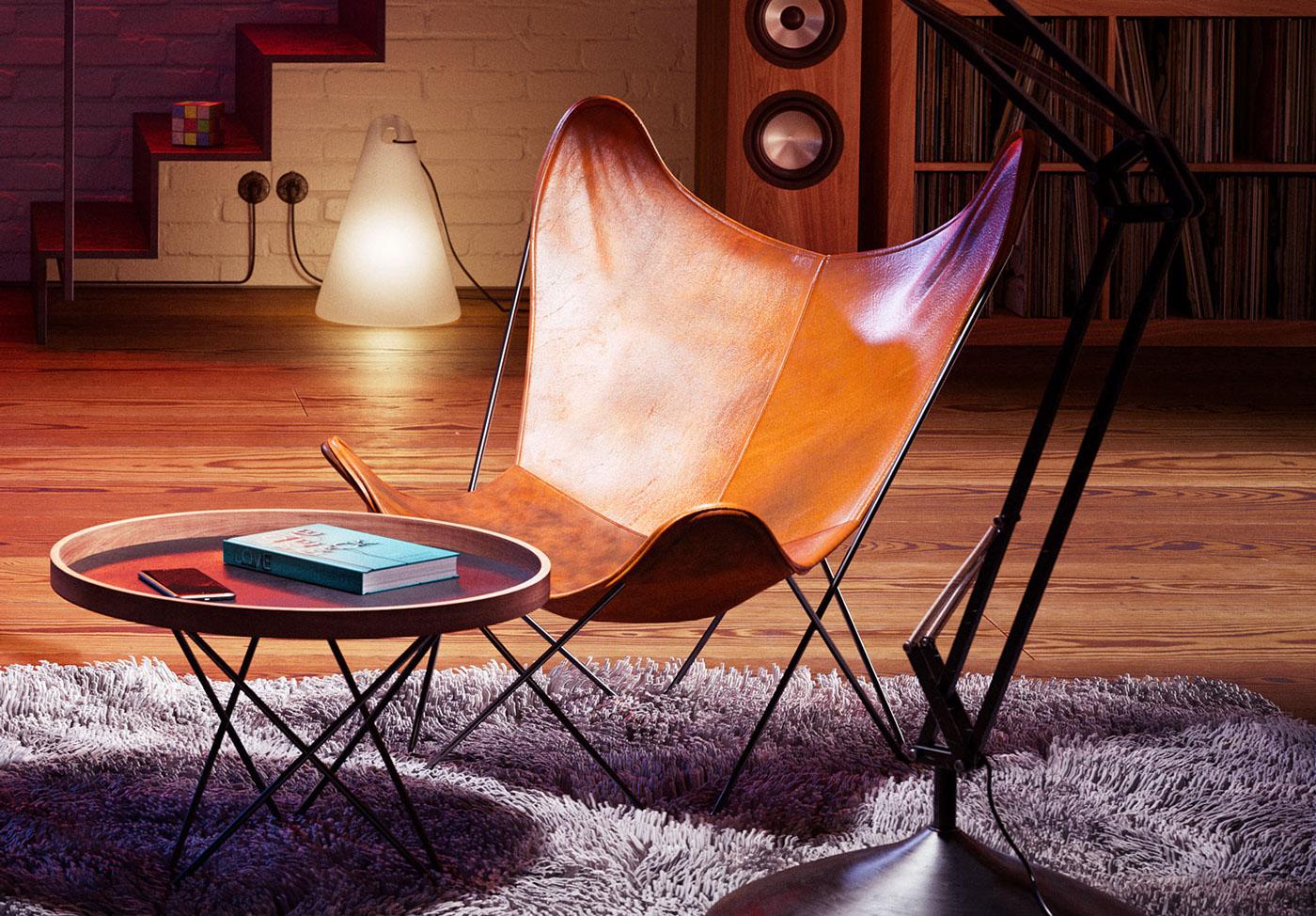 interior design  girl Digital Art  3D stars living room apartment LOFT architecture Interior