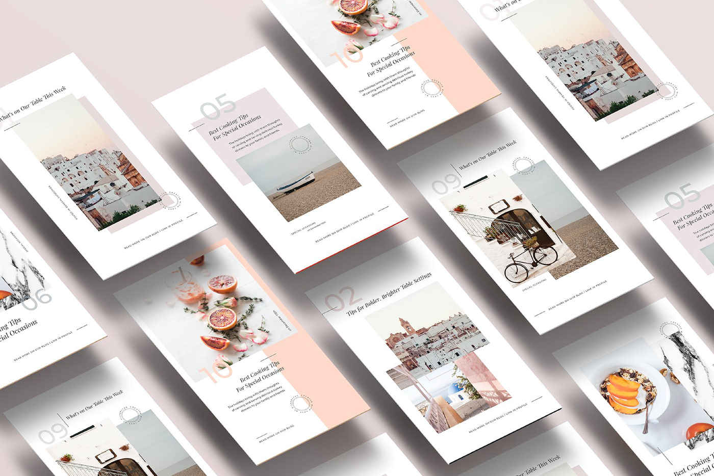 Food & Travel Instagram Stories Pack FREE DOWNLOAD! on Behance