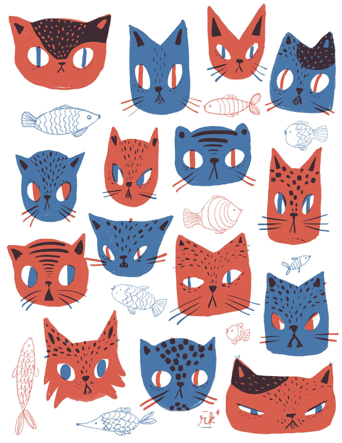 完美的19個貓咪圖案欣賞