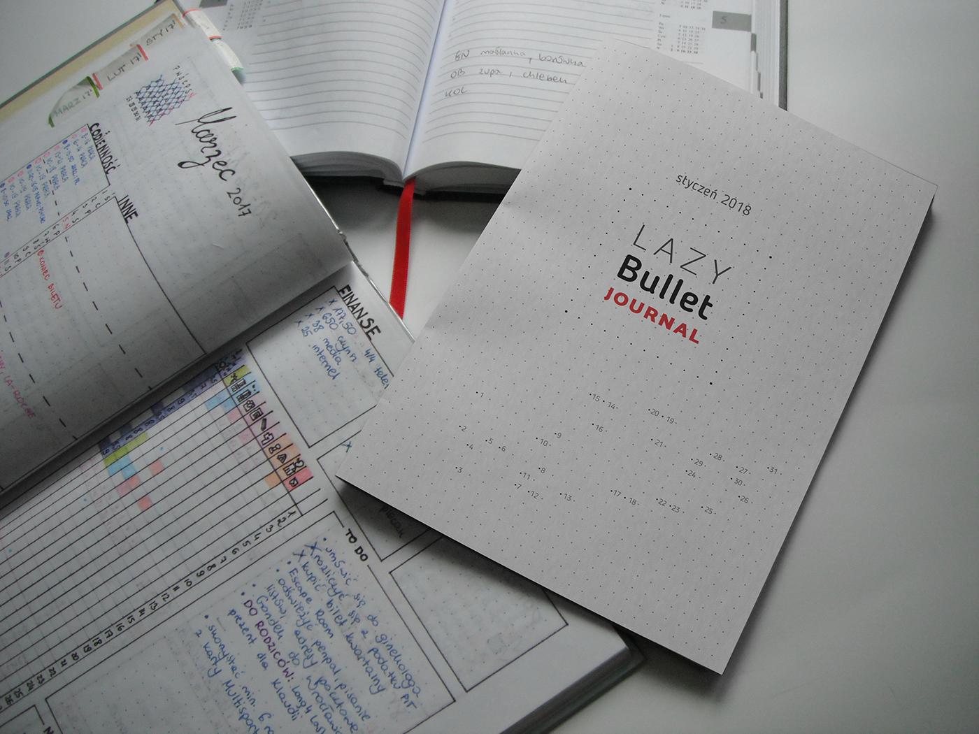 planner bujo bulletjournal Bullet planowanie ORGANIZACJA