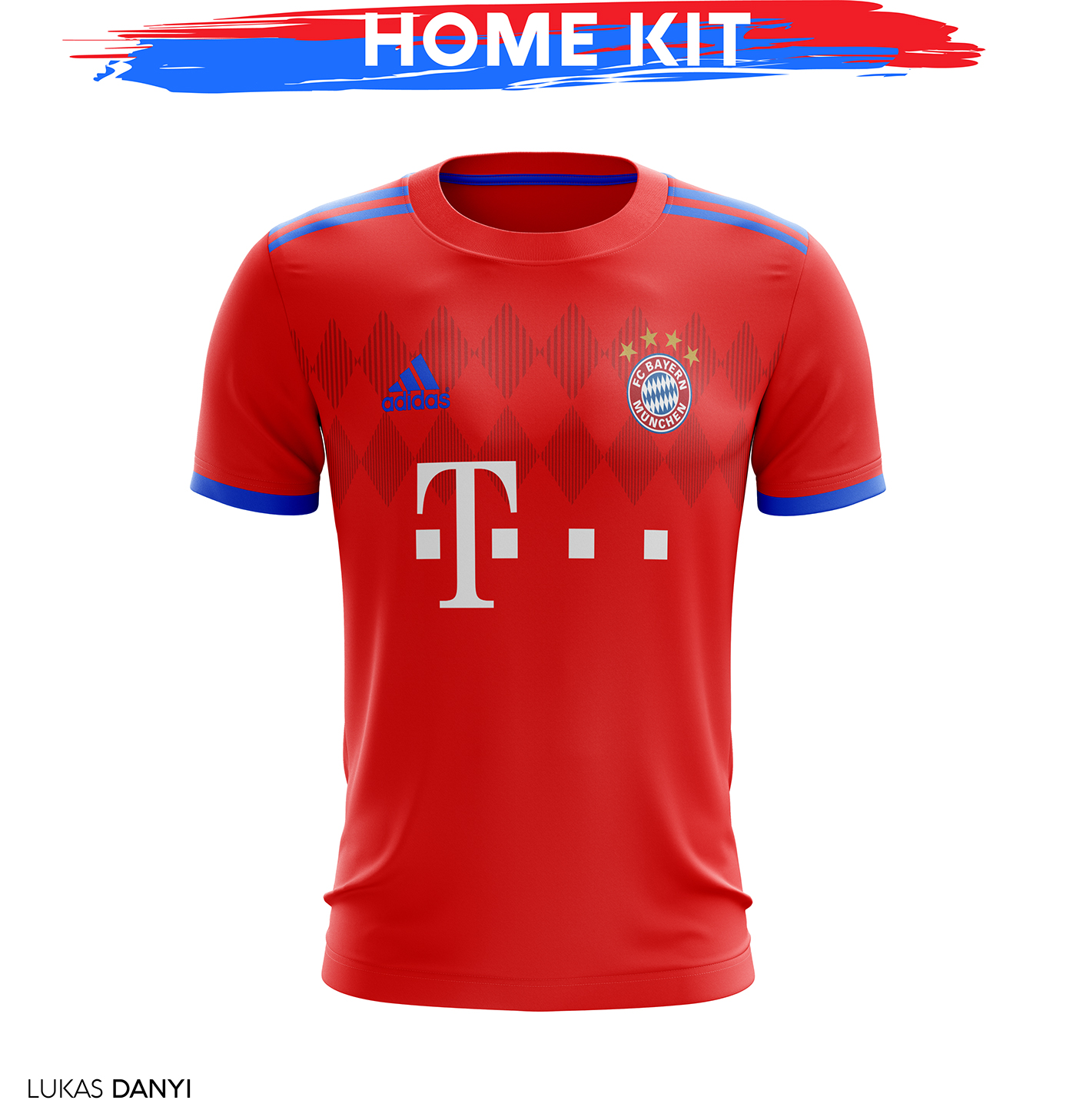 Fc Bayern Munchen Football Kit 18/19  on Behance