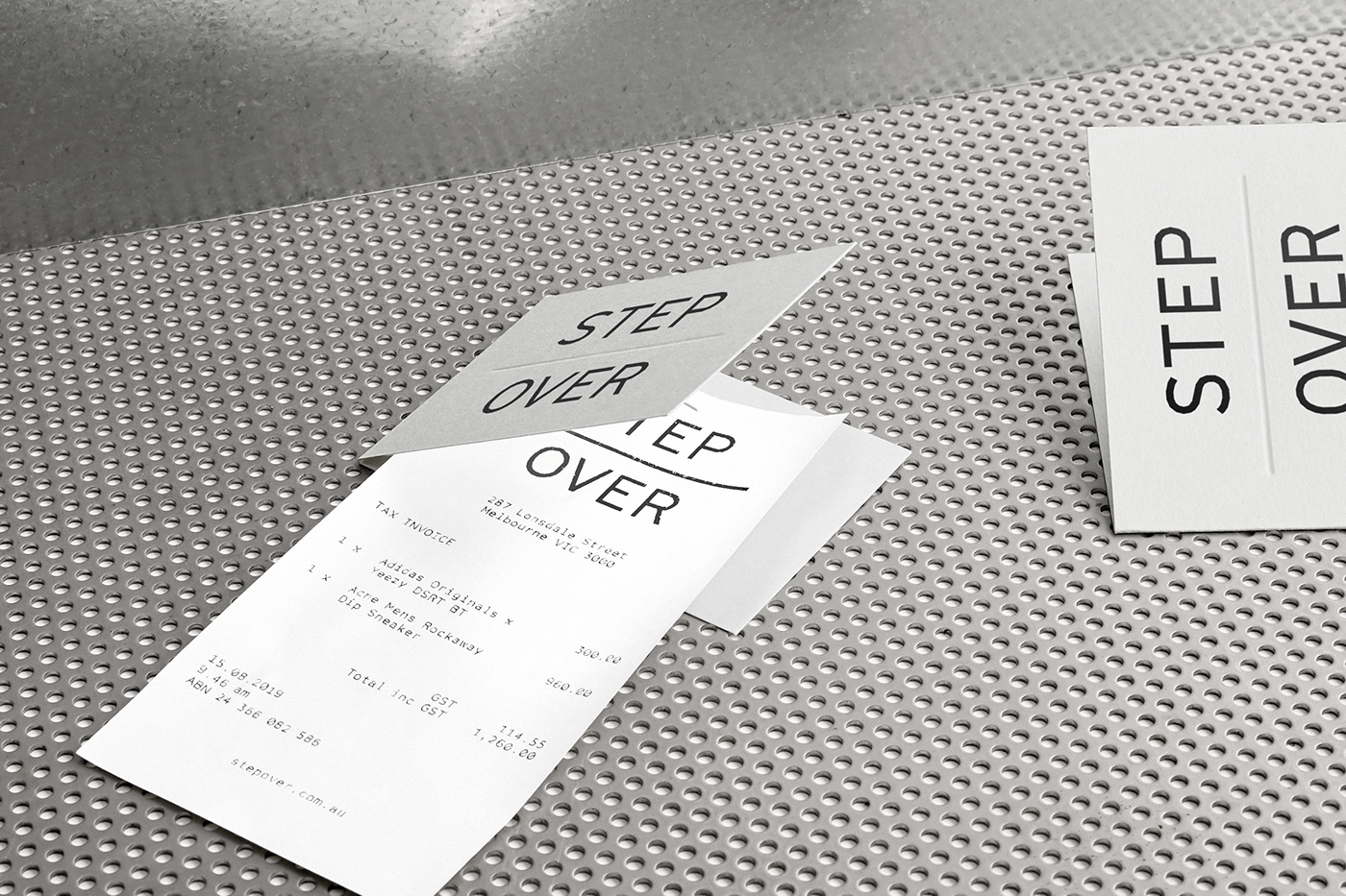 business card light box neon receipt envelope Signage swing tag