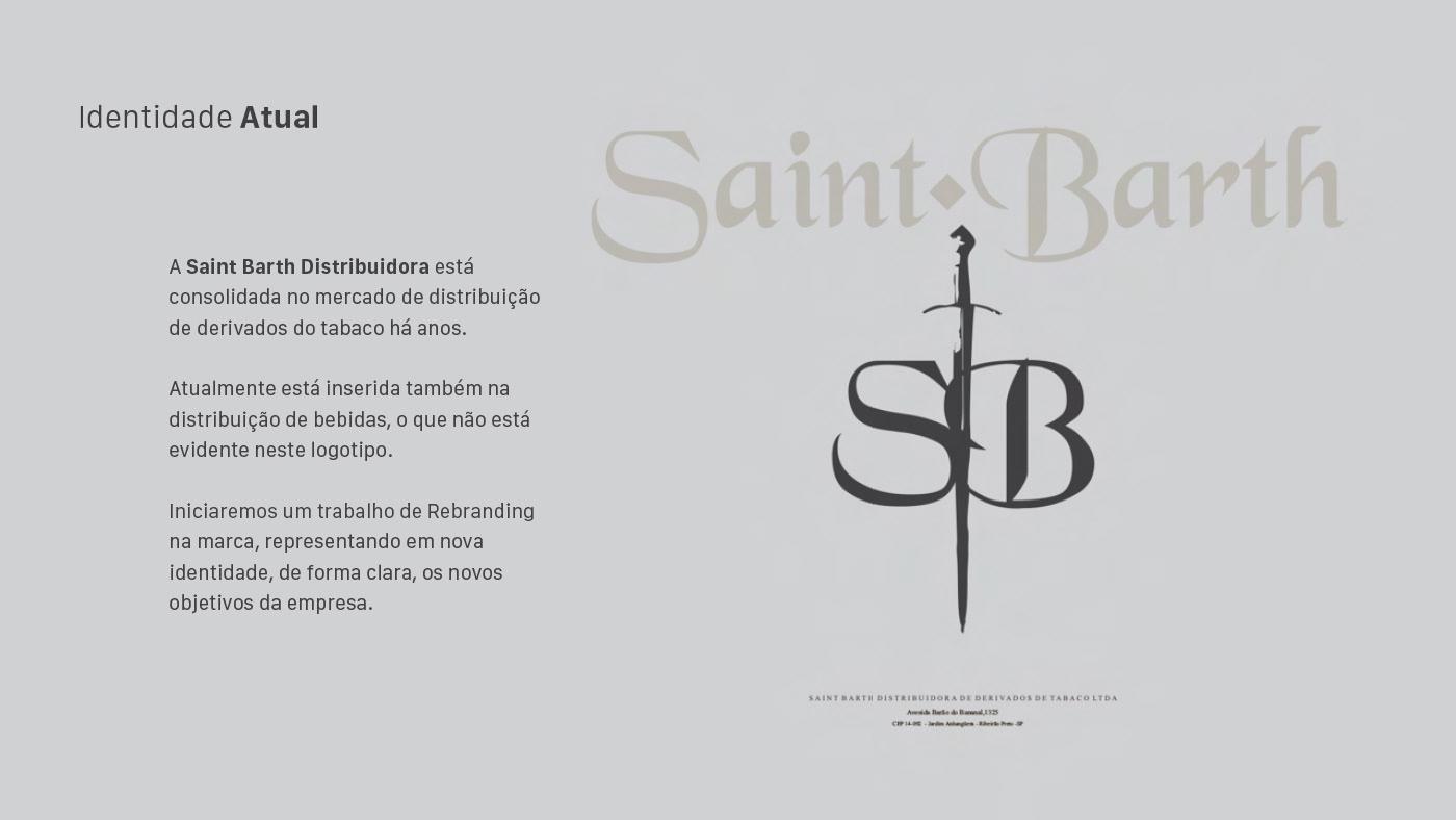 baly energy bebidas branding  distribuidora Distribuidora de Bebidas logo Logomarca Logotipo marca saint barth