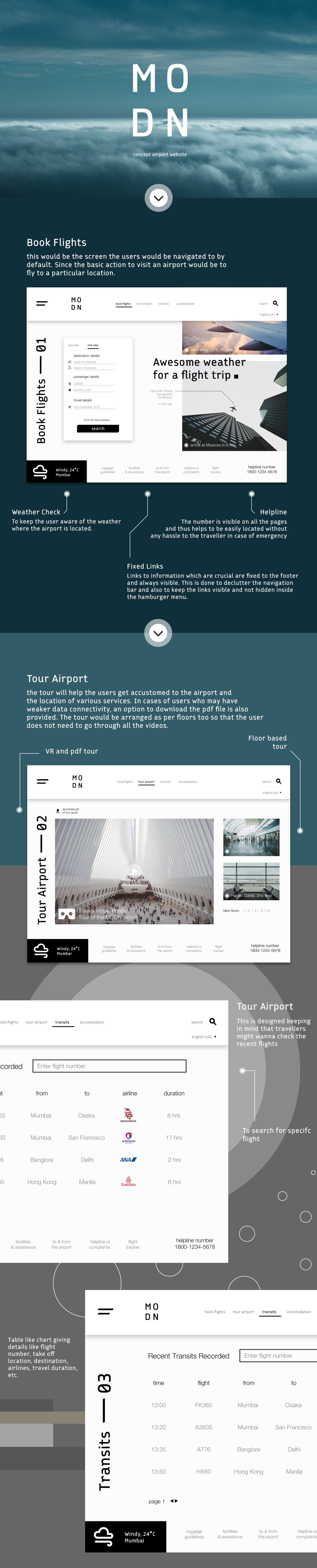 airport Website minimal UI modern ux concept White airplane Travel