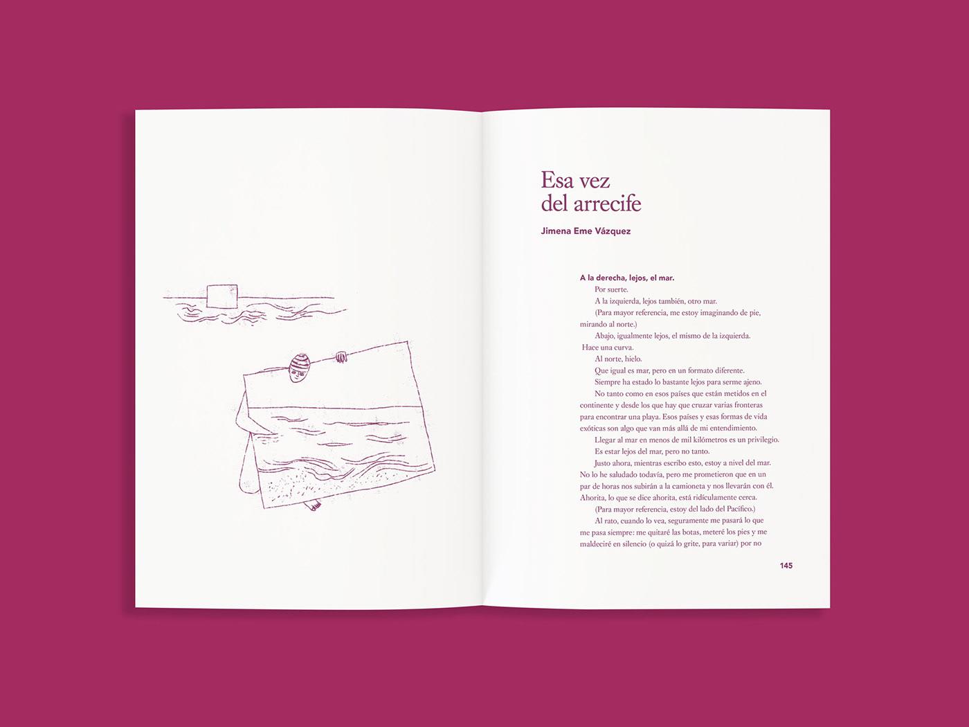 book cuento dibujo Drawing  Duotone ensayo nada nadar Pool swimming pool
