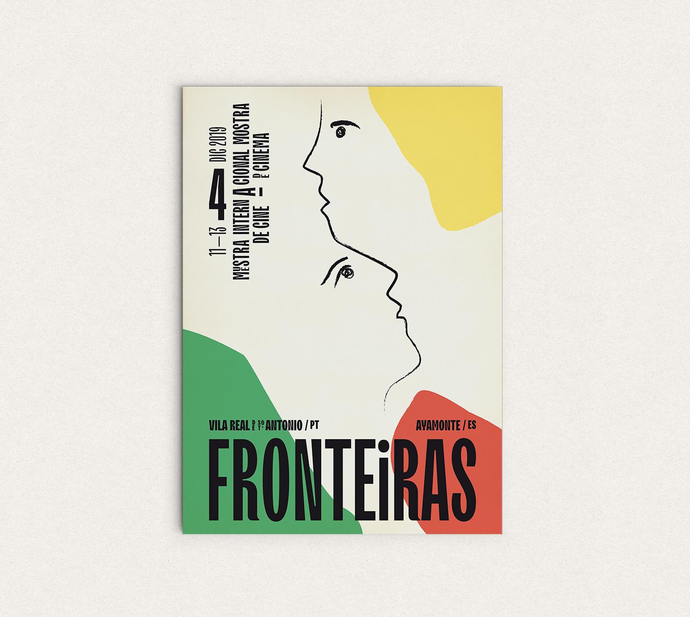 diseño cartel Cinema design festival visual identity mostra cinema Poster Design