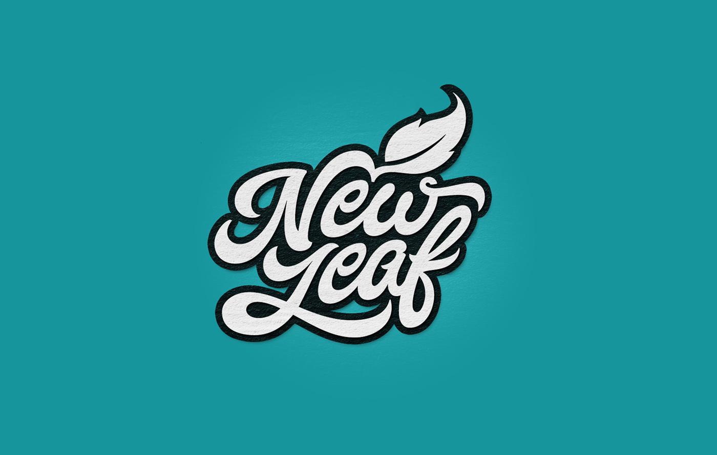 Hand lettered logotypes vol on behance