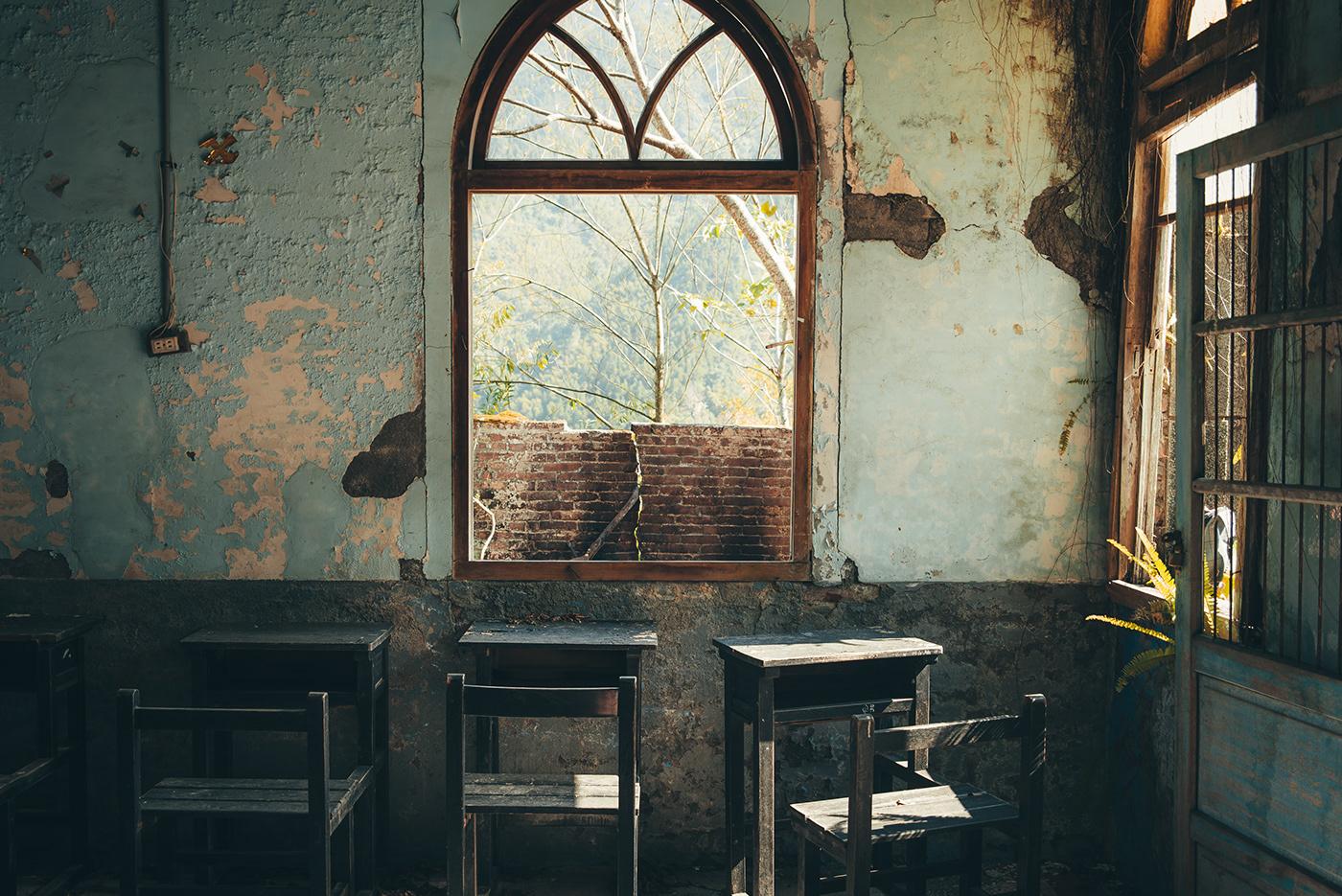 Image may contain: window, indoor and door