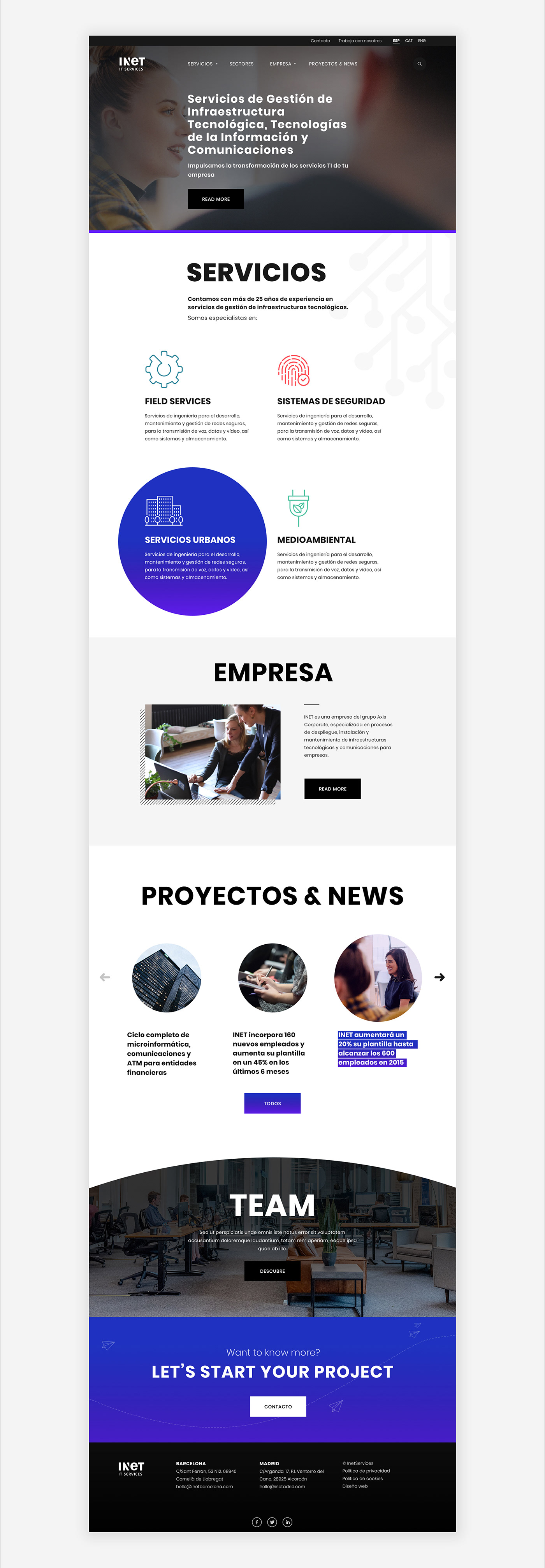 corporate digital art direction digital design services ui design visual design Web Design